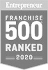 Entrepreneur Franchise 500 Ranked for 2020 Badge