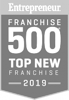 Entrepreneur Franchise 500 Top New Franchise 2019 Badge