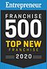 Entrepreneur Franchise 500 Top New Franchise 2020 Badge