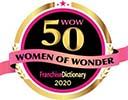 WOW 50 Women of Wonder 2020 logo