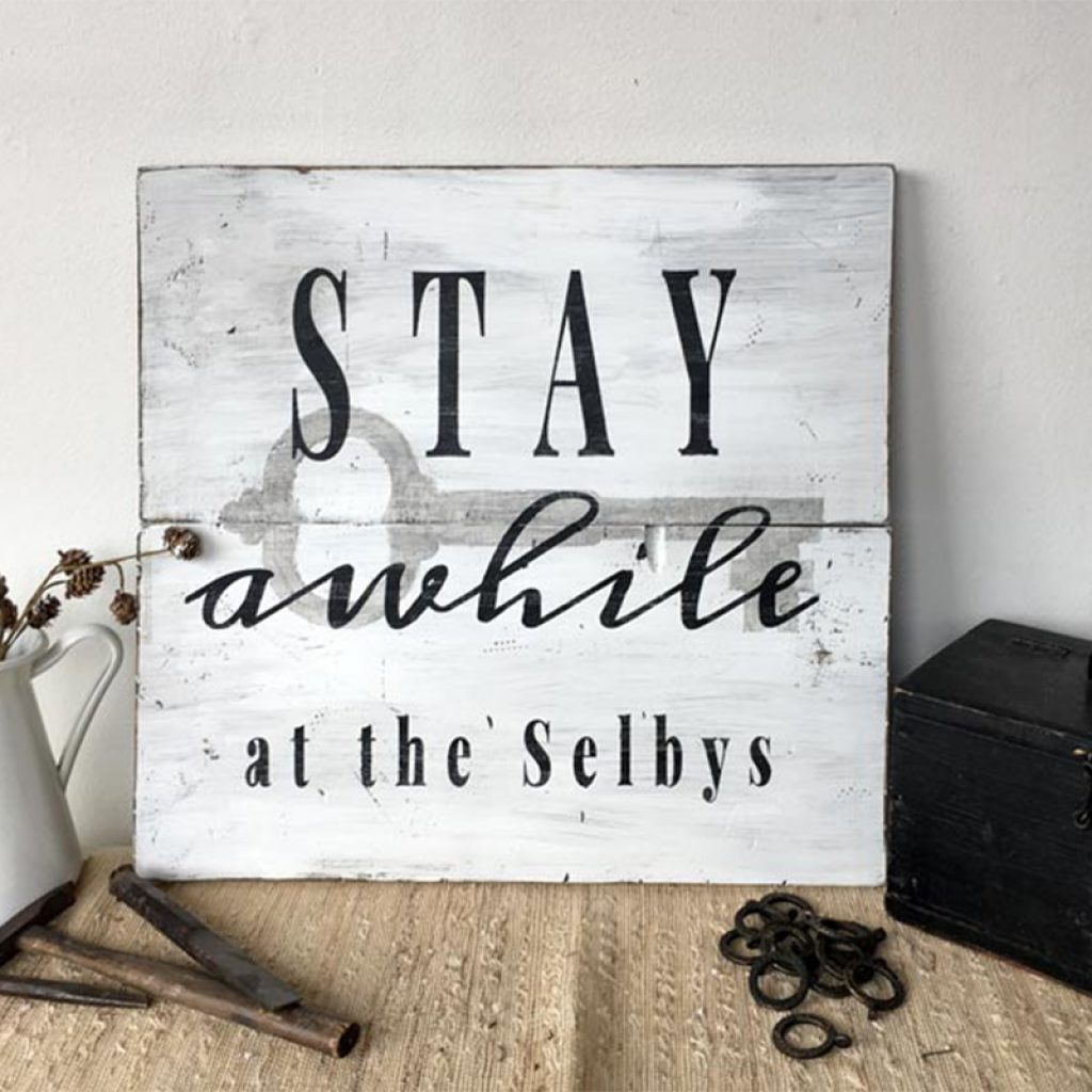 Stay Awhile (KEY) – 24×24