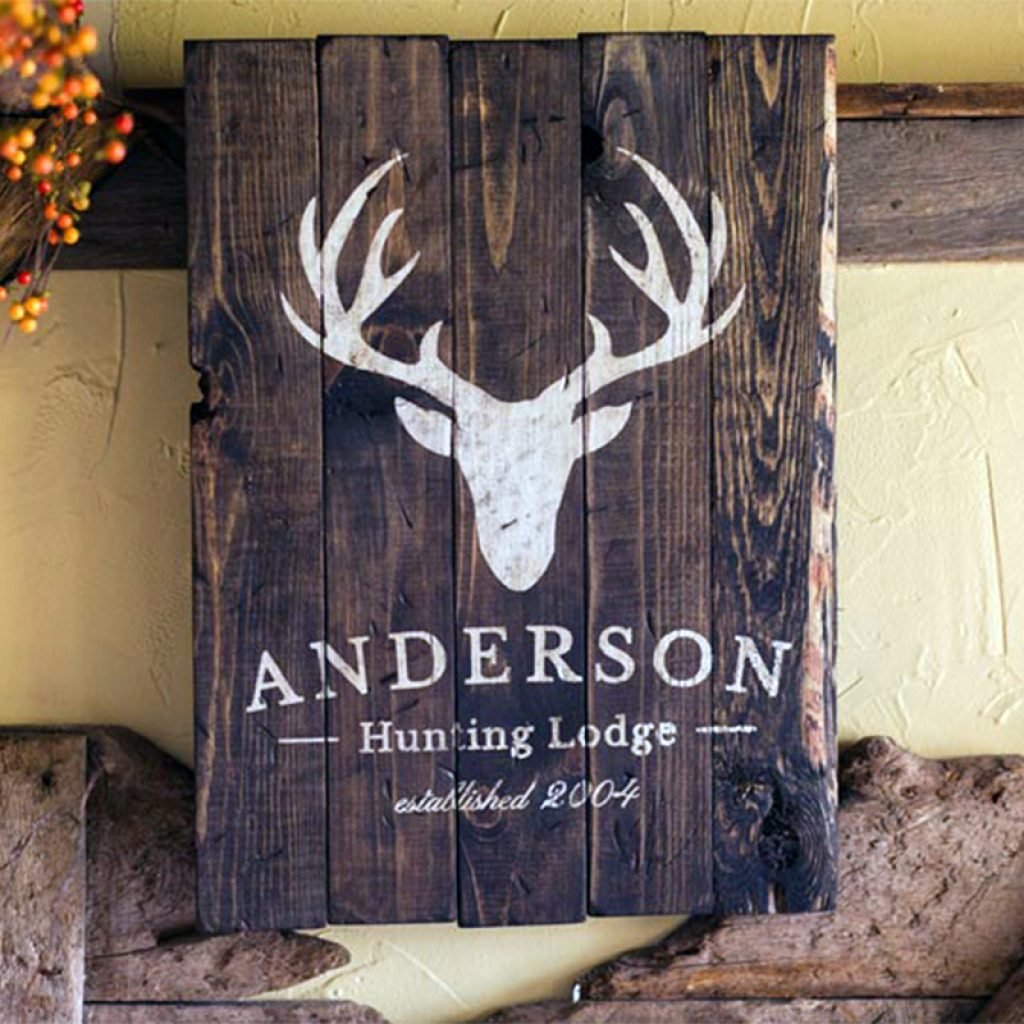 Hunting Lodge Sign – 20×24