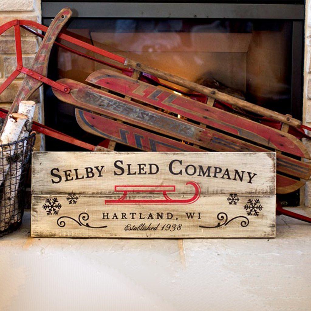 Sled Company – 12×32