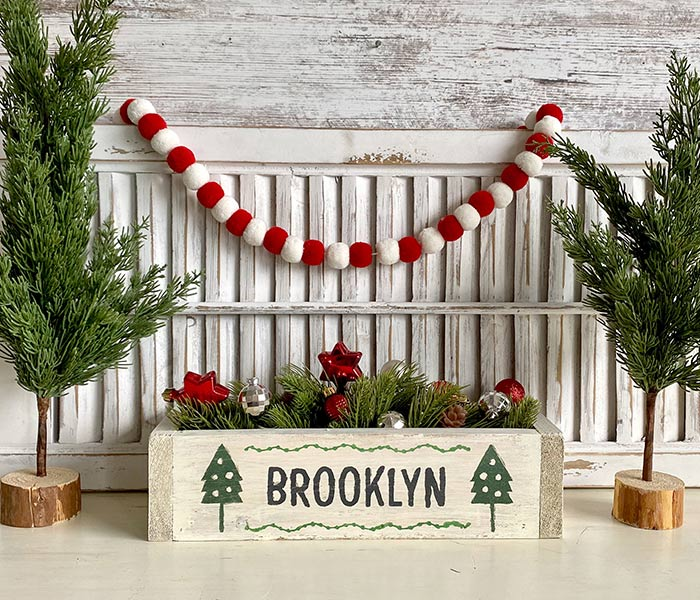 Christmas Tree Box - 14x4x6