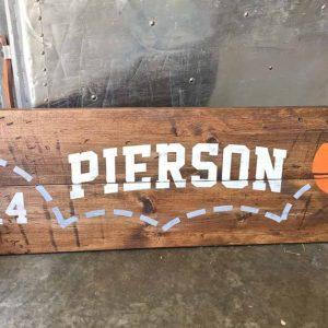 Basketball Wood Sign Making Class