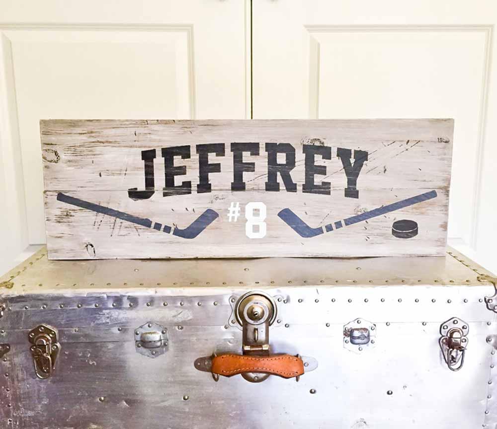 hockey - Board and Brush