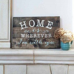 Personalized Wooden Signs for your Home