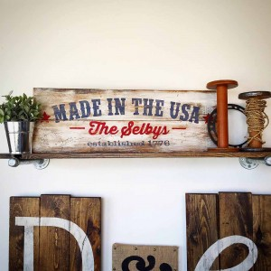 Made in the USA Wood Sign Making Class