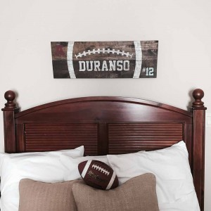 Wooden Football Signs
