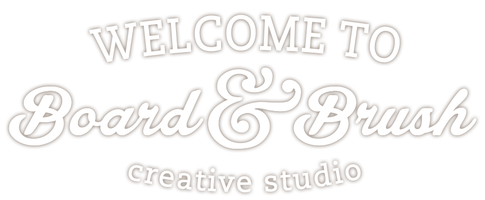 Welcome to Board & Brush - Wood Sign Workshops