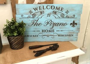 French Inspired Wooden Signs