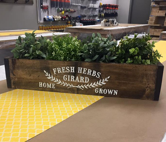 Herb Planter Box 8x24x6 Limited Project Availability Check With