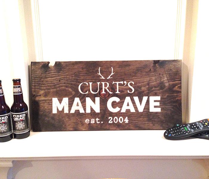 Man Cave Barber Murfreesboro Tn : Bar board and brush