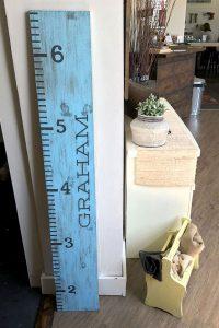 Wooden Children's Growth Ruler