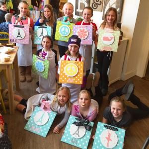 Kids Wood Sign Birthday Party Workshop