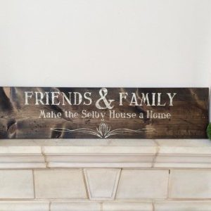 Friends and Family Sign Making Class