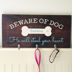 Wooden Dog Sign Making Class