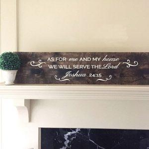 Religious Quote Wood Sign Classes