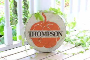 DIY Wood Sign Making Class for Halloween
