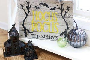 Wooden Hocus Pocus Sign