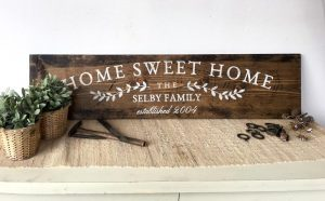Home Sweet Home Sign making Classes