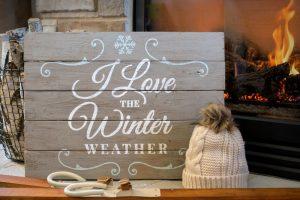 Winter Weather Wood Sign Workshop