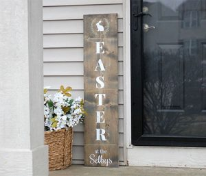 Easter Holiday Wood Signs