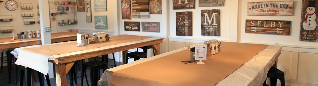 Doylestown Board and Brush | Wine & Painting Wood Sign Studio