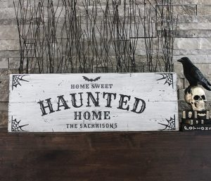 HALLOWEEN - Haunted Home - 12x32