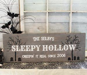 HALLOWEEN - Sleepy Hollow - 12x32