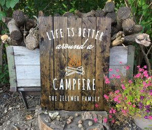 Camping Life is Better Wood Sign