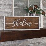 Shalom - 14x34 Wood Frame