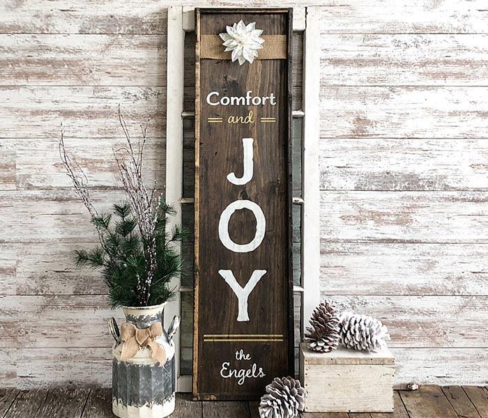 Joy on the porch