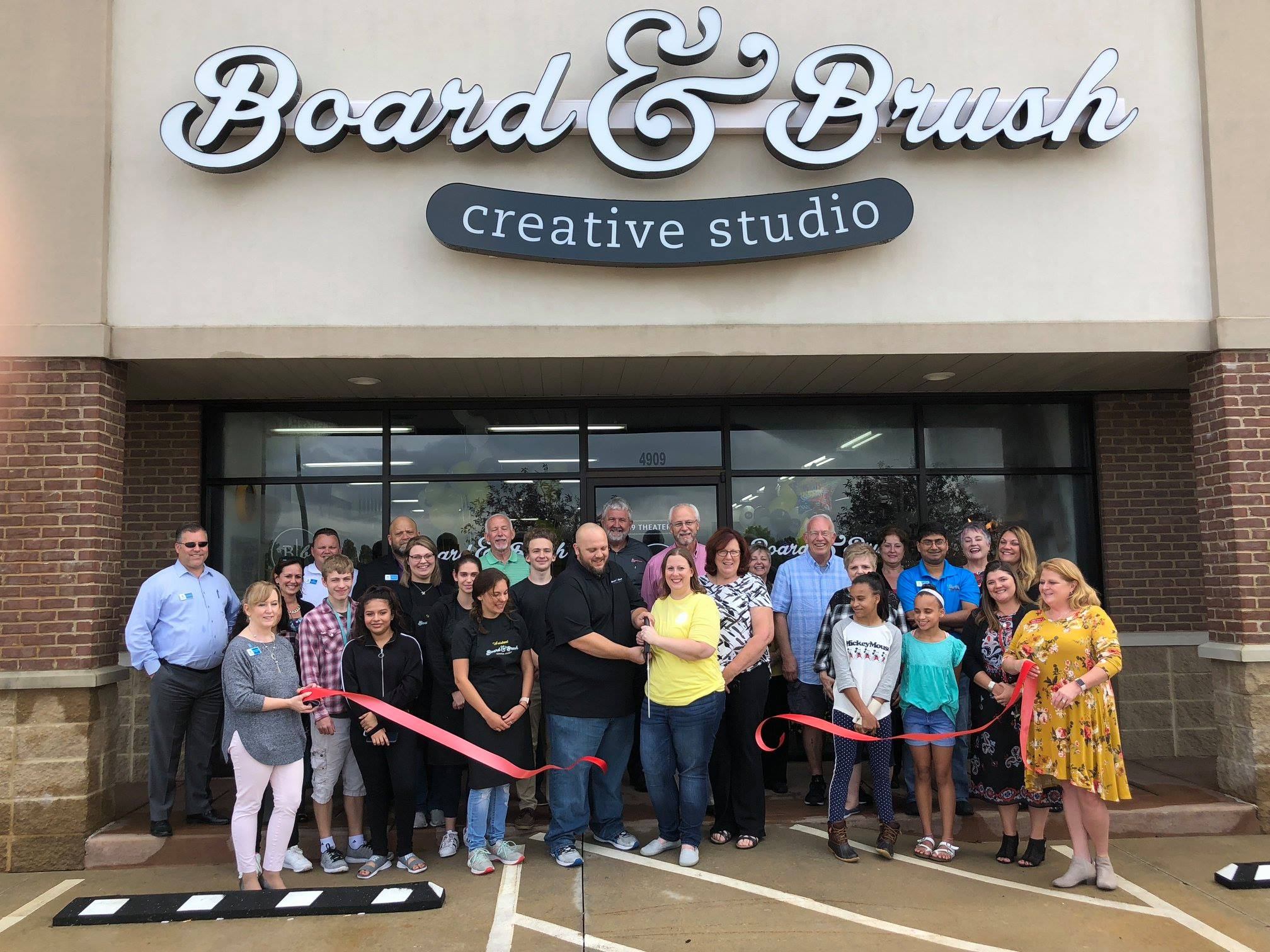 Evansville In Board Brush Is Now Open Book A Class Online