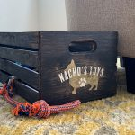 Pet Toy Crate - 13x18x10 Wood Box