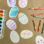 EASY CRAFTS FOR KIDS: PAPER EASTER EGGS